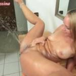 Squirtende Fotze wird gefickt, 3-facher Multipler Orgasmus