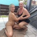 Versaute Dreier-Piss-Orgie, mit Jana-Schwarz und einem User!
