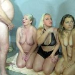 Extreme Pisse-Orgie mit Olga, Loly und Rosella! Drei Pisse gierige Sluts in Aktion! Teil 1